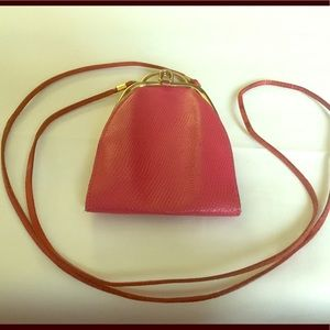 Cute Little Pink Crossbody Pouch.
